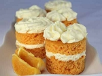 Mini Creamsicle Cakes