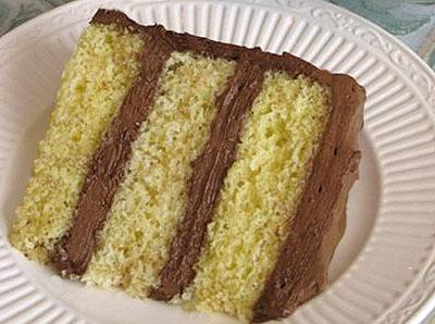 diet yellow cake with sugar free chocolate frosting share yellow cake ...