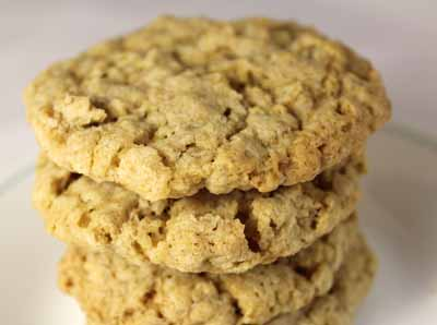 Vegan Gluten Free Oatmeal Cookie